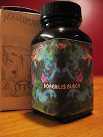 Noodlers Borealis Black Ink Review
