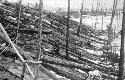 Ledakan Mahadasyat di Siberia (1908)