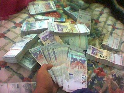 mantra doa merubah daun dan kertas jadi uang asli