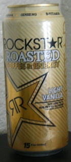 Canned Reviews Rockstar Roasted Light