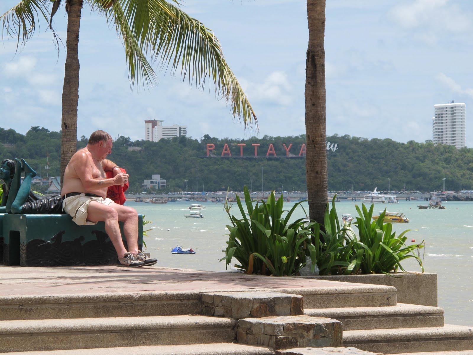 Pattaya old men sex tourists