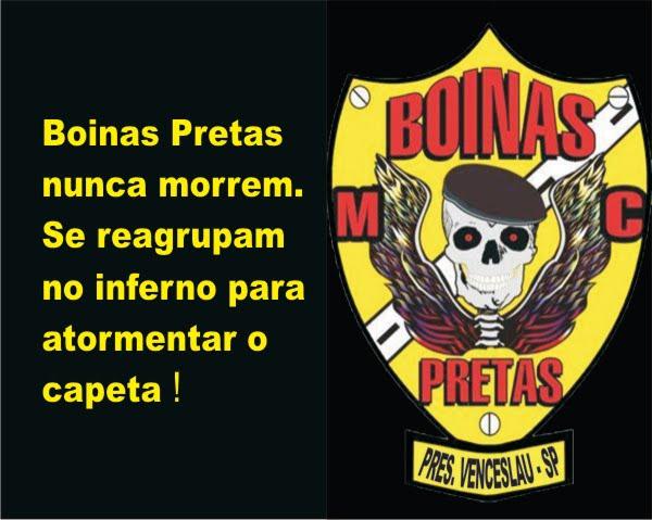 Boinas Pretas M.C. Presidente Venceslau  A Boina 523b8eb3de0