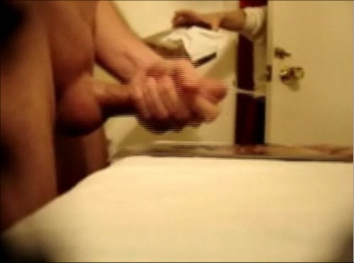 Getting caught jerking off