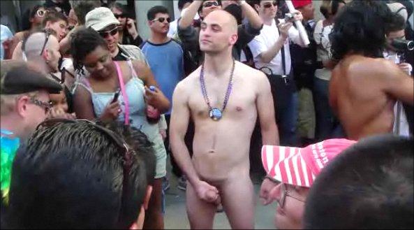 pride gay parade cock Big