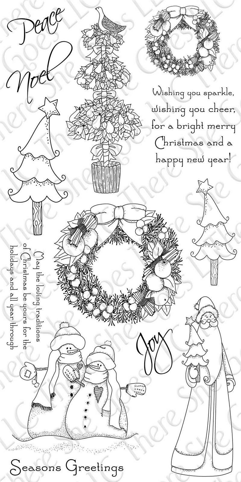 Sketching Stamper: TSG Clear Stamps