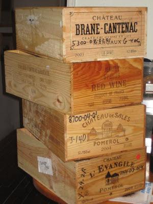Wooden Crates - If I could find em, Id use em.