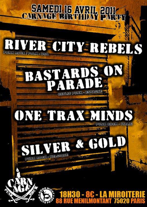 bastards on parade euro tour 2011 update celtic folk. Black Bedroom Furniture Sets. Home Design Ideas