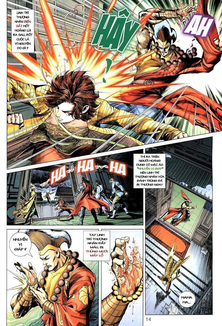 Anh Hùng Xạ Điêu anh hùng xạ đêu chap 14 trang 13