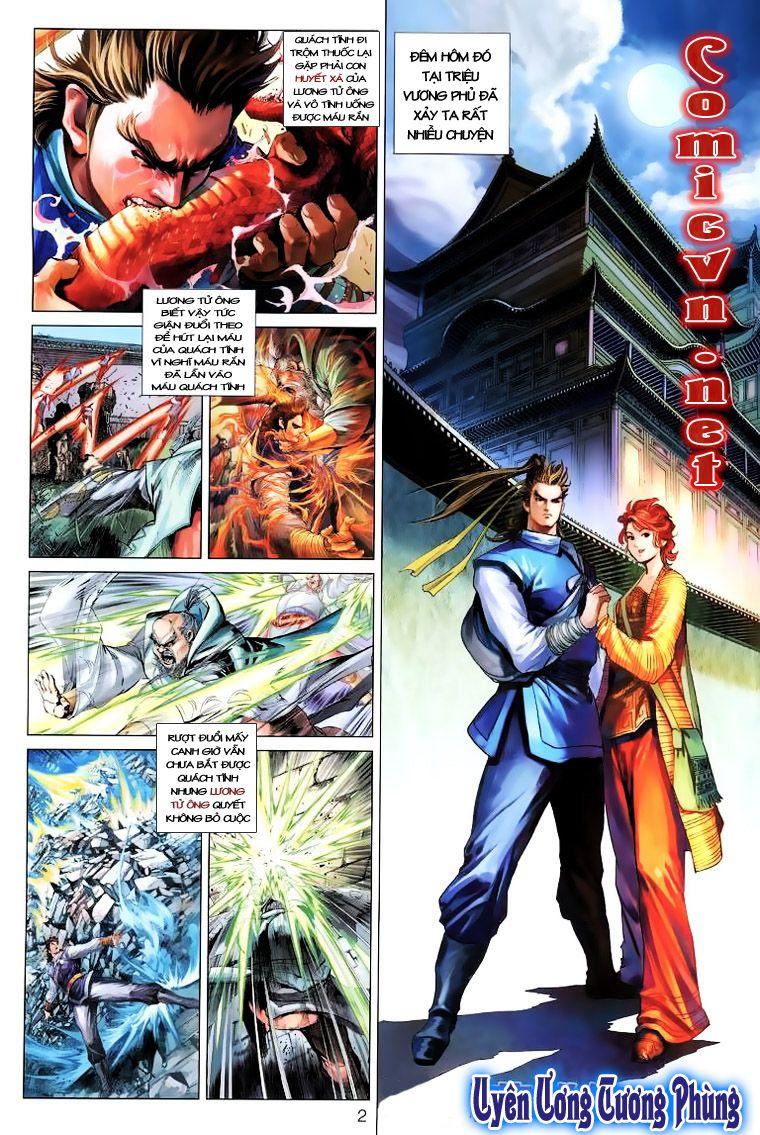 Anh Hùng Xạ Điêu anh hùng xạ đêu chap 14 trang 1