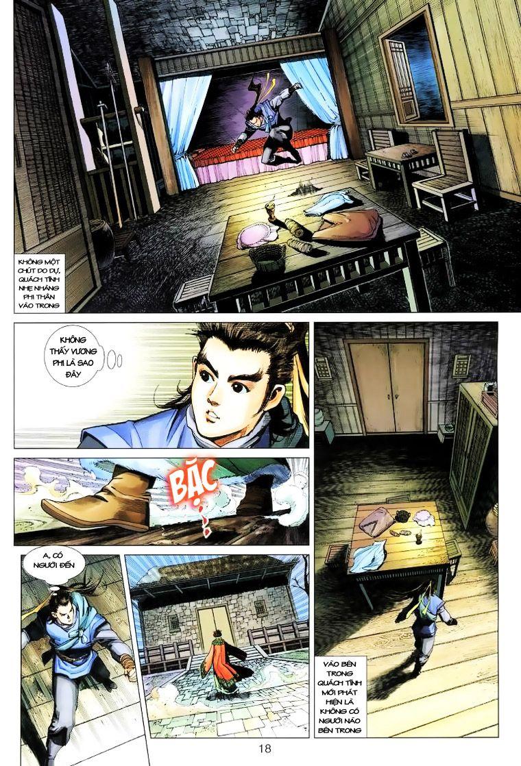 Anh Hùng Xạ Điêu anh hùng xạ đêu chap 14 trang 17