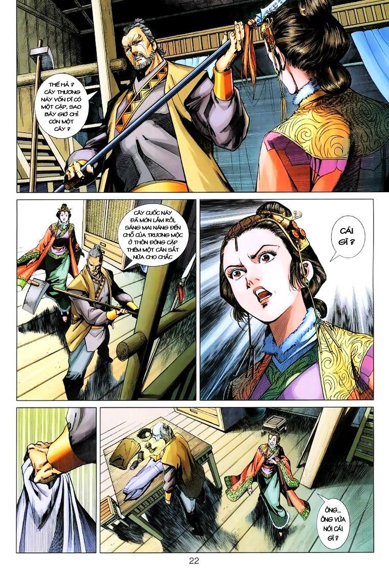 Anh Hùng Xạ Điêu anh hùng xạ đêu chap 14 trang 21