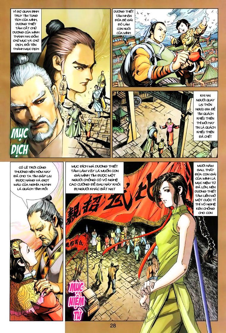 Anh Hùng Xạ Điêu anh hùng xạ đêu chap 14 trang 27