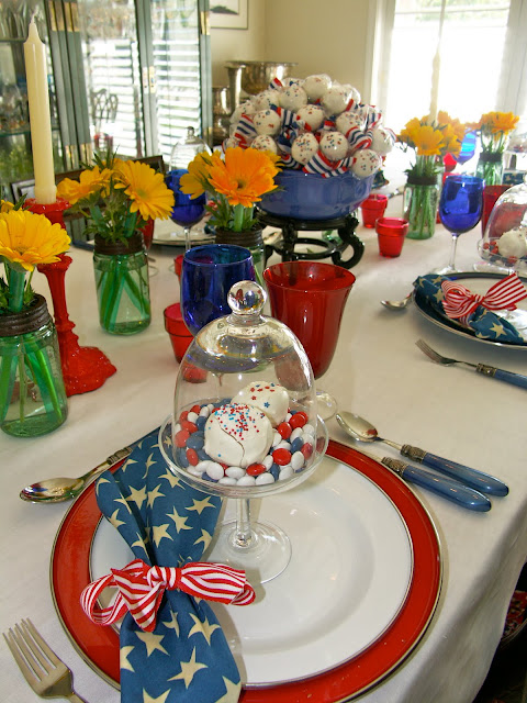 Entertaining Women Red White And Blue Luncheon