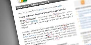 Cara Pasang SEO Smart Link Untuk Blogspot/Blogger (Update)