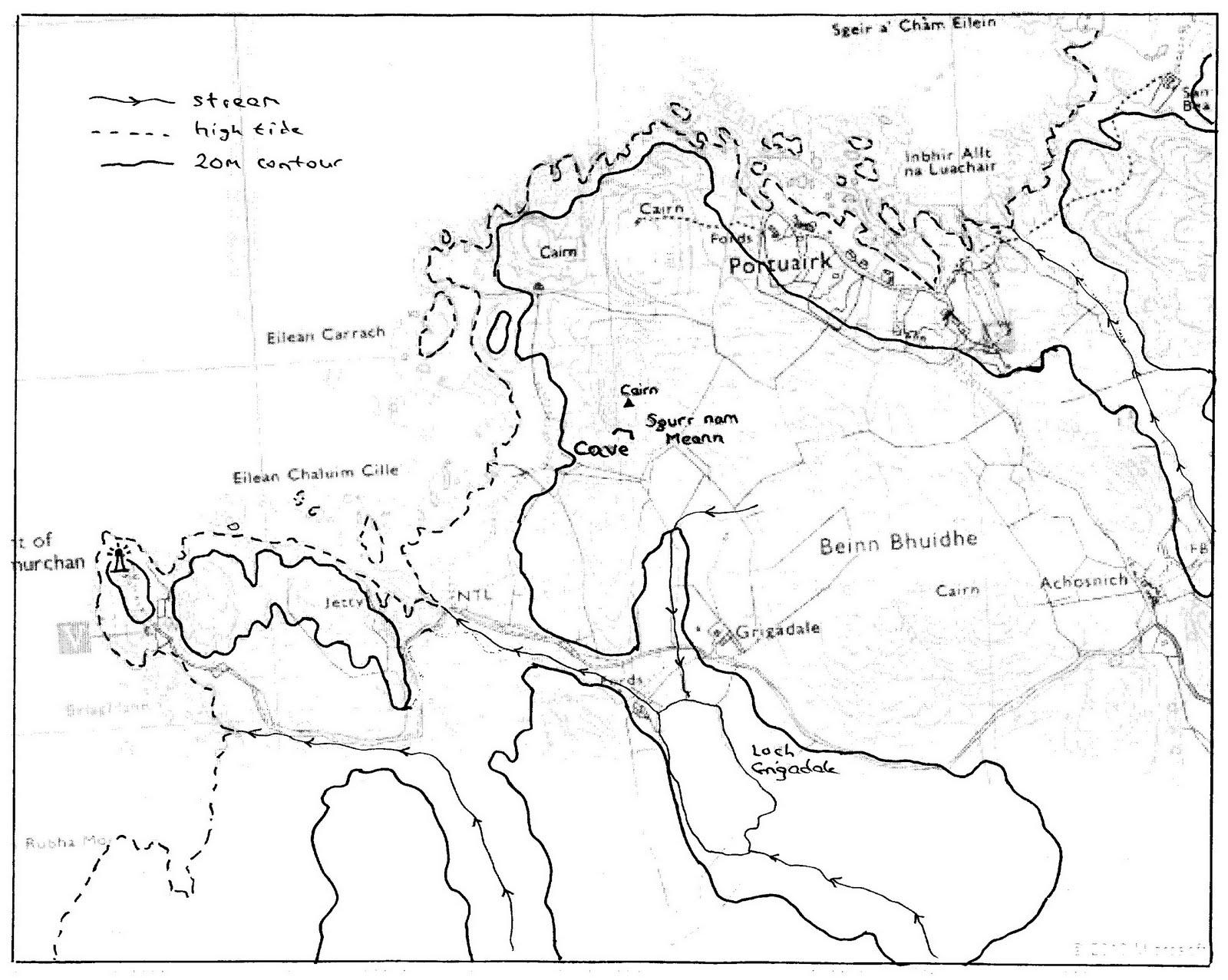 A Kilchoan Diary: The Caves of Sgurr nam Meann