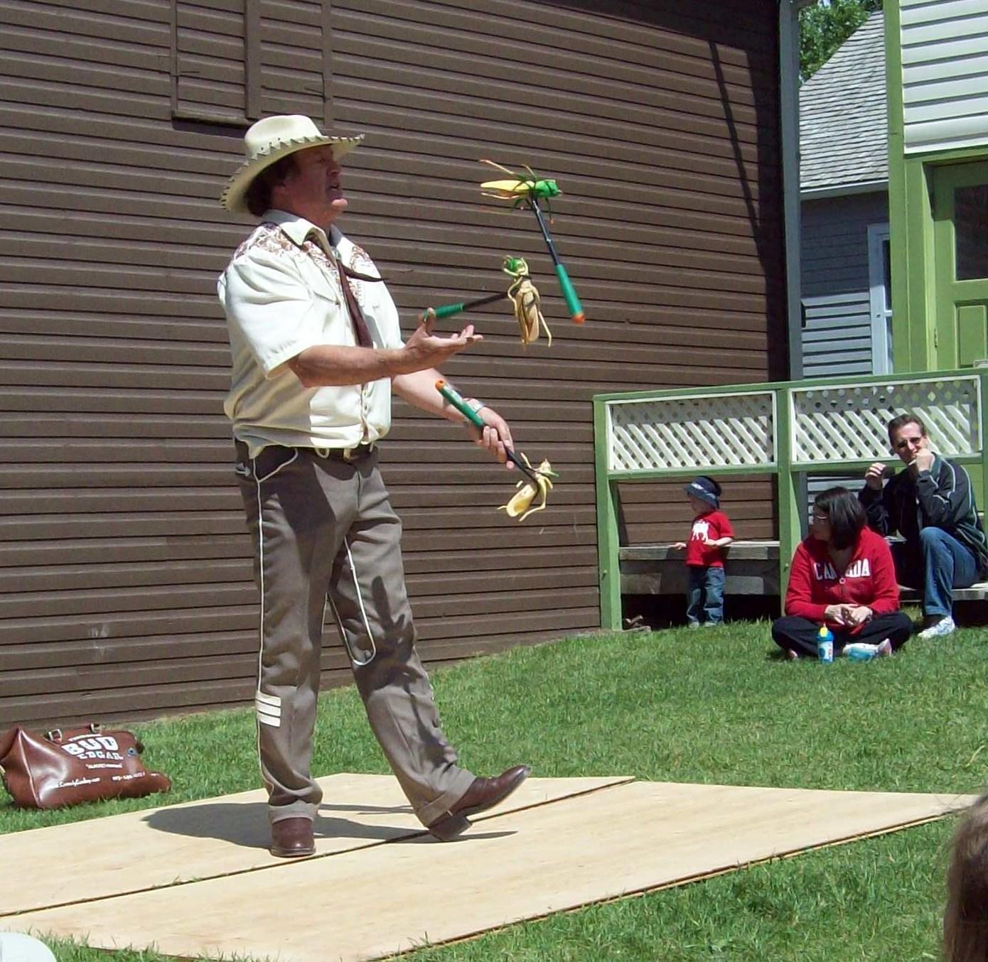 Comedy Cowboy Canada Day