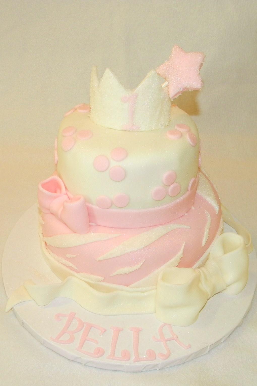 Piece Of Cake Princess Cake 1st Birthday