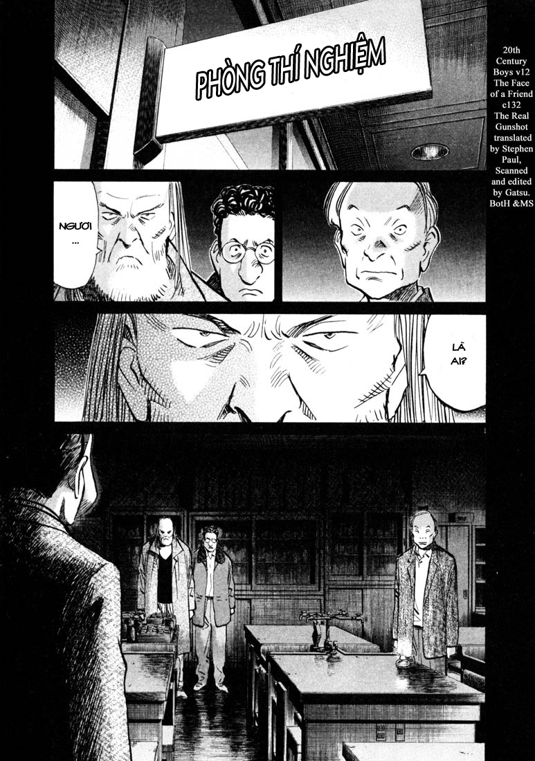20th Century Boys chapter 132 trang 3