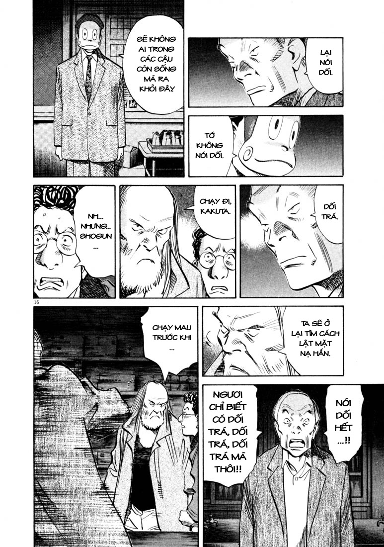 20th Century Boys chapter 132 trang 33
