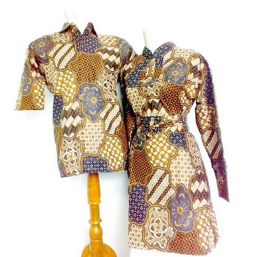 Batik Kerja Sarimbit: Batik Solo Plat AD: BATIK SARIMBIT (PASANGAN PRIA/WANITA