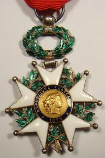 Resultado de imagem para medalha da Legião de Honra