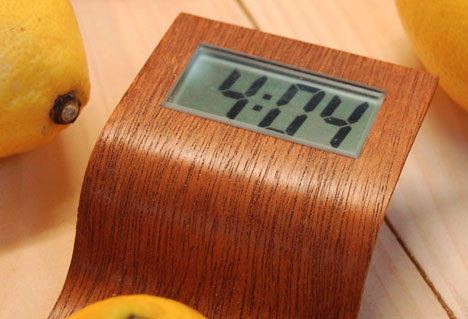 Lemon Powered Clock Is One More Face To Feed Mark S