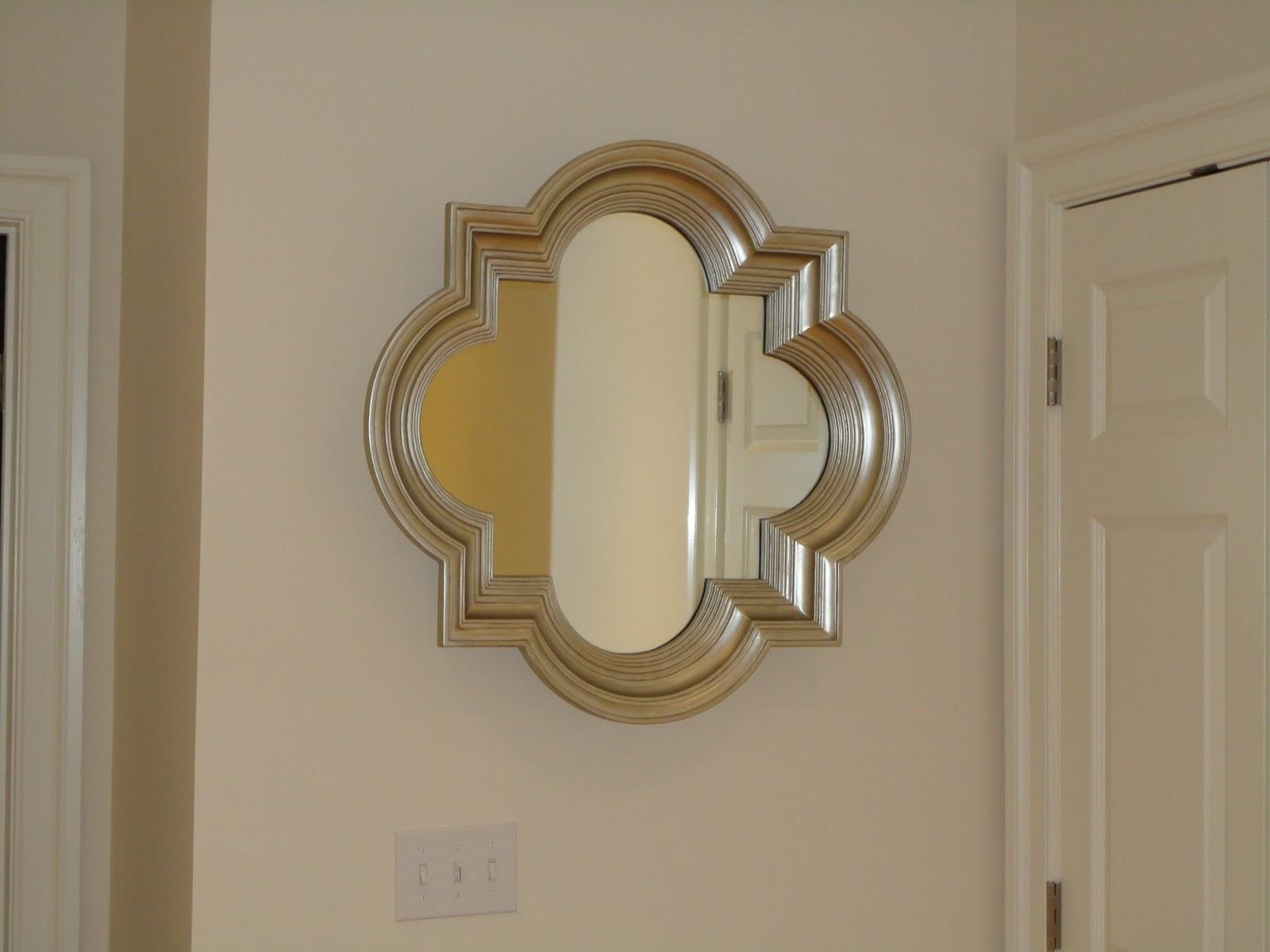 View From My Heels Quatrefoil Mirror
