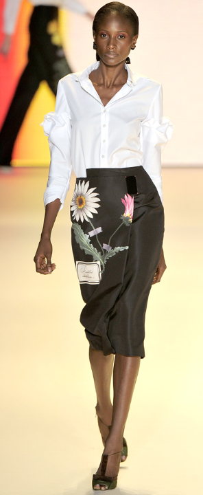 9a67295ff08c12 THE DAILY SUSE: Donna Karan and Carolina Herrera: The White Blouse