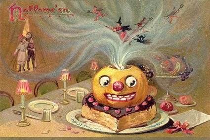 Halloween Clipart: Vintage Halloween Clip Art