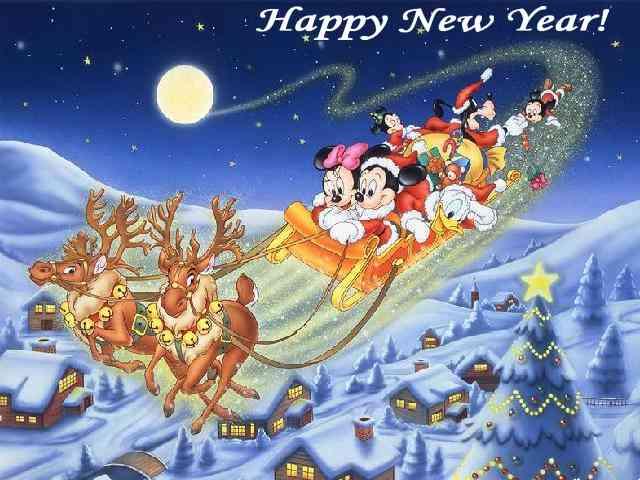 Cartoon New Year Cards