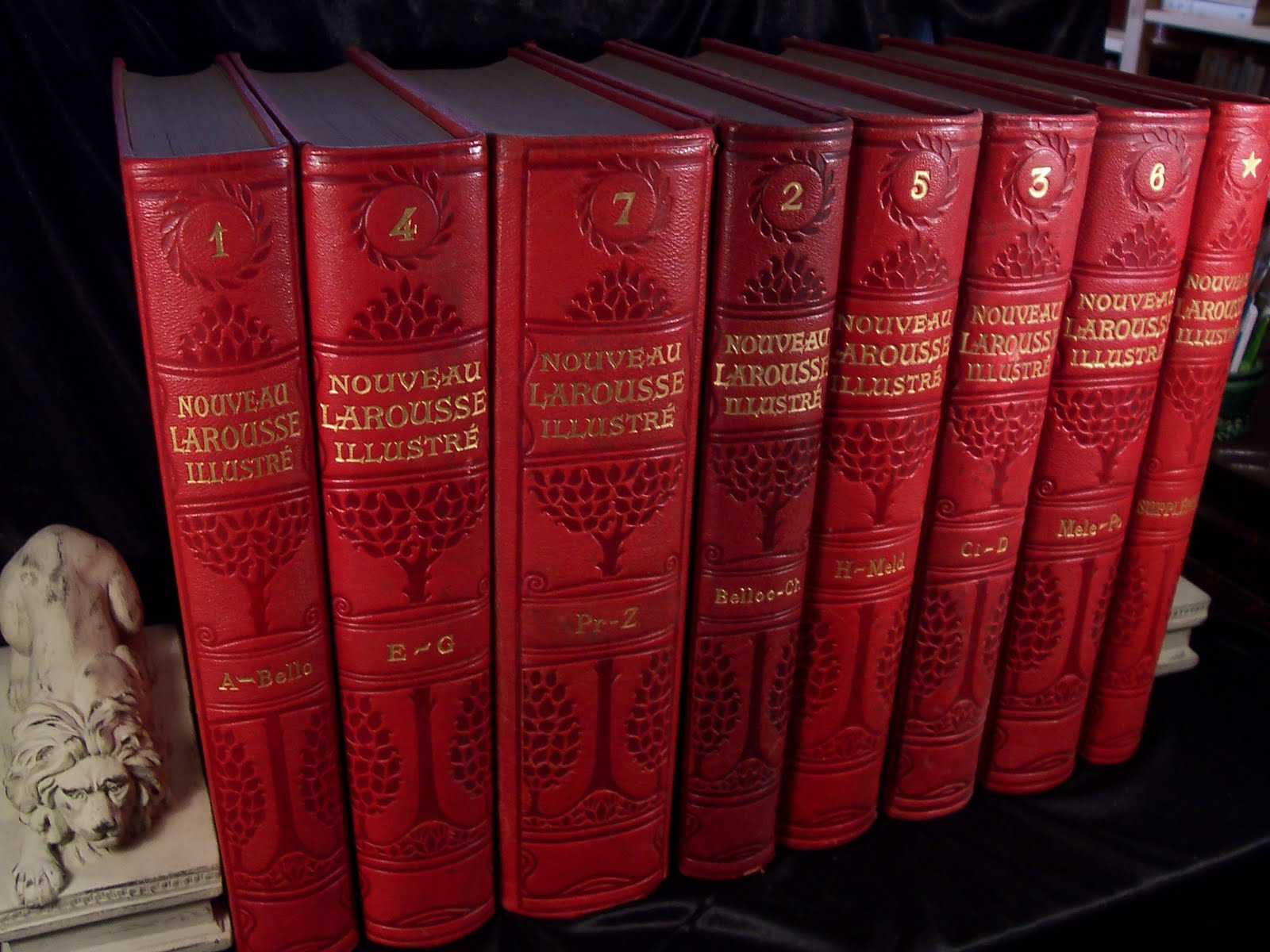encyclopedie larousse du xxe siecle