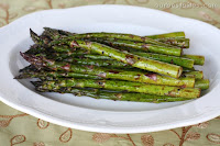Garlic Balsamic Asparagus