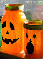 Crafty in the Kitchen: Mason Jar Lanterns