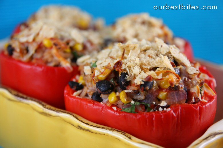 Southwest Stuffed Bell Peppers - Our Best Bites