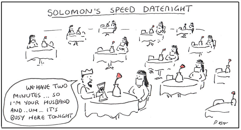 Invention speed dating