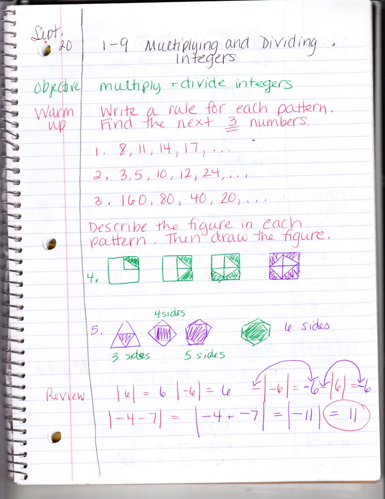 Ms Jean S Classroom Blog 1 9 Multiplying And Dividing