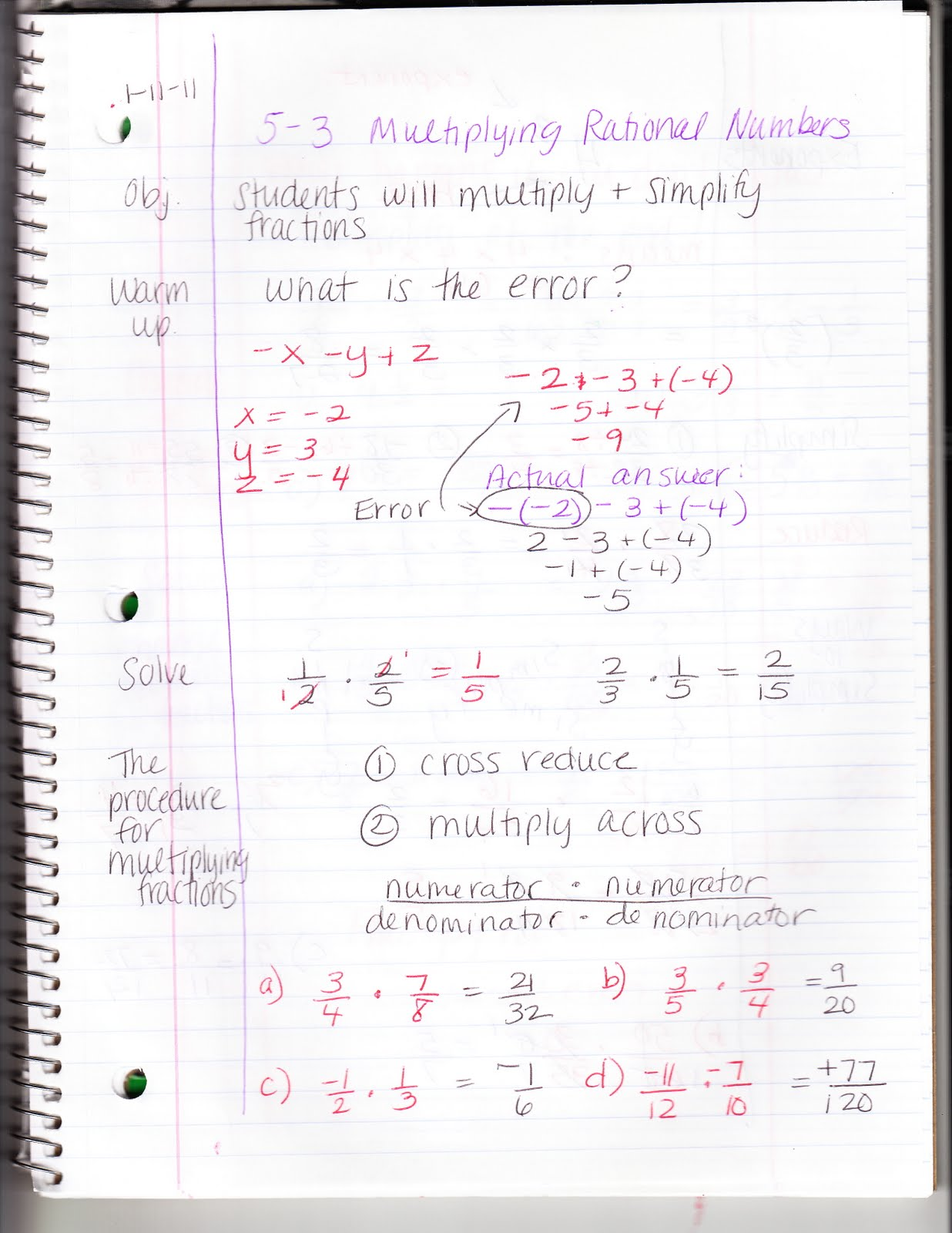 Ms Jean S Algebra Readiness Blog 5 3 Multiplying