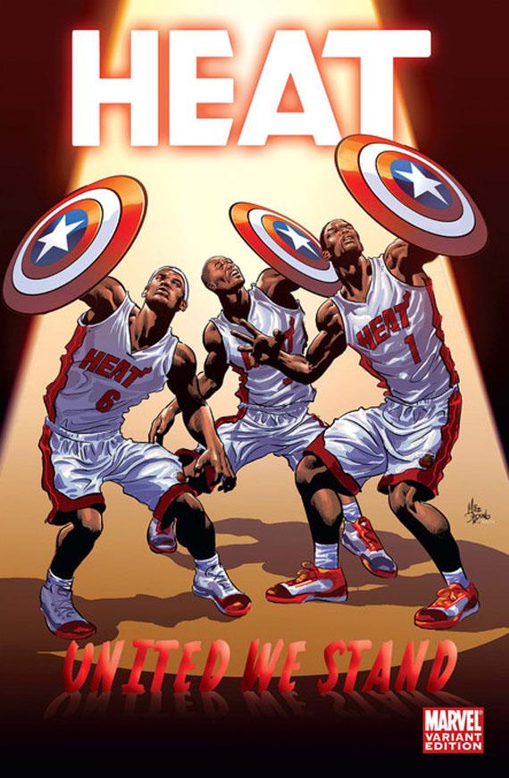 Espn x marvel comics nba team covers sneakernews. Com.