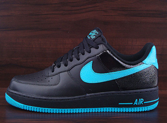 SoleSurvivor Detroit  Nike Air Force 1 Low  07 – Black – Chlorine Blue 3590f4dfa6
