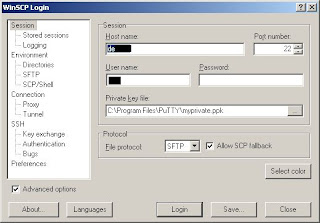My cubicle: Use Netbeans on c project with winscp