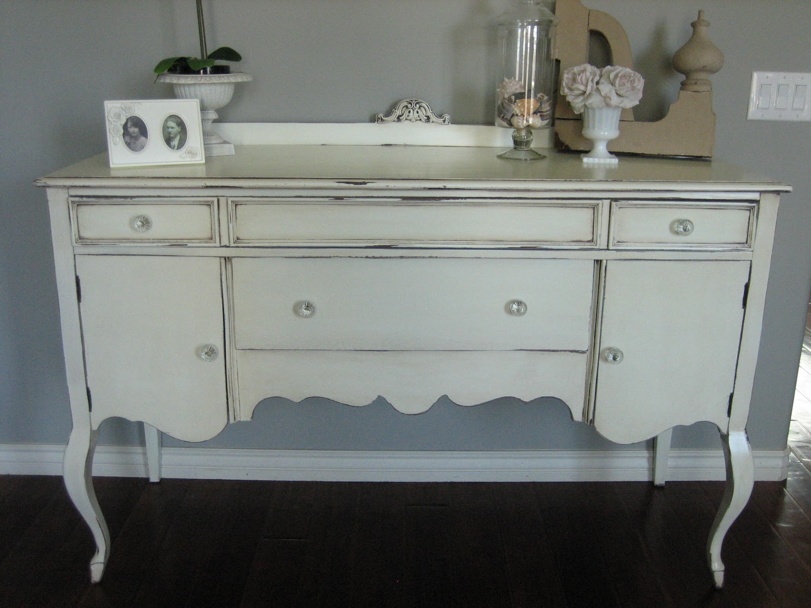 Sideboard Shabby Chic European Paint Finishes Shabby Chic Antique Sideboard
