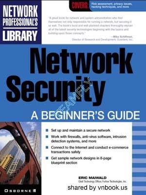 Network Security: A Beginner's Guide - Trung Tâm Đào Tạo
