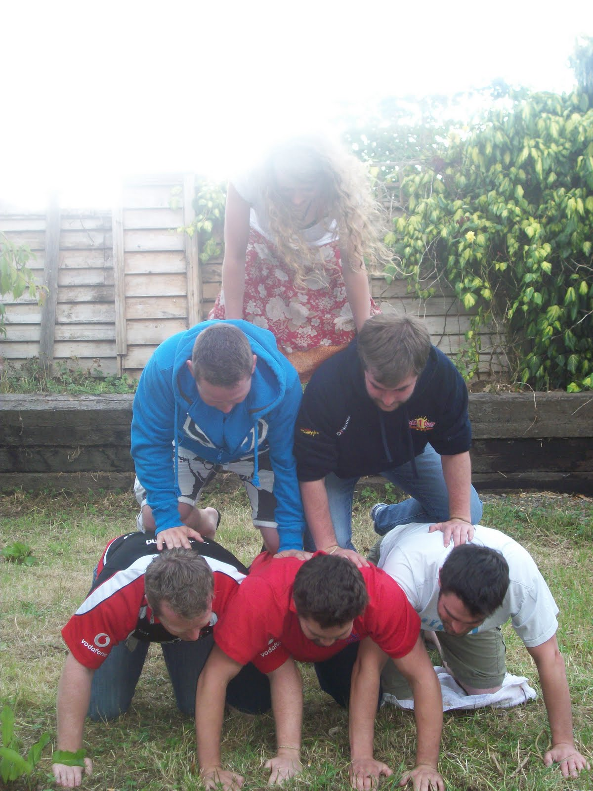 The Project 366 Things: Thing 80 Make A Human Pyramid