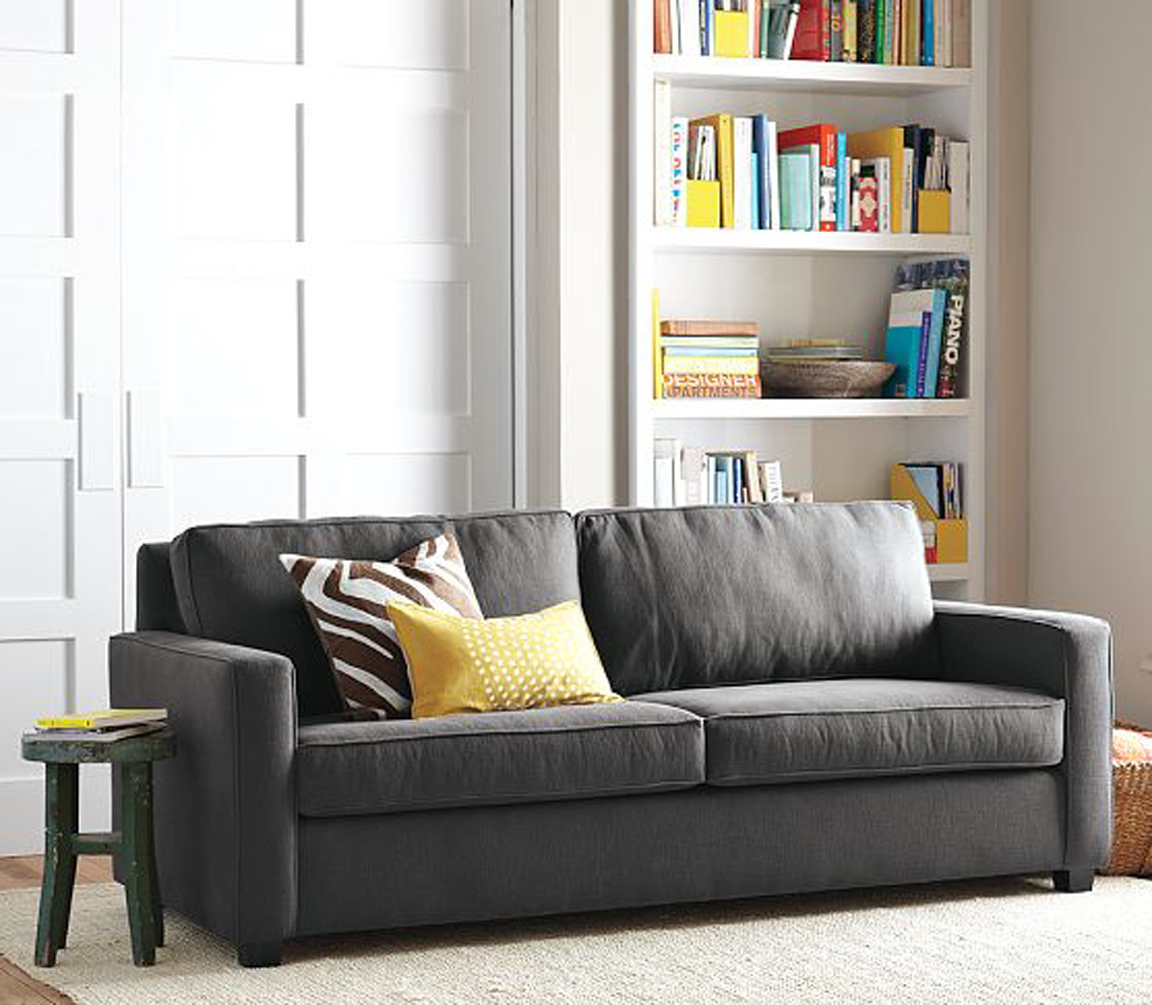 west elm henry sofa BLACK. WHITE. YELLOW.}: Henry Sofa from West Elm west elm henry sofa