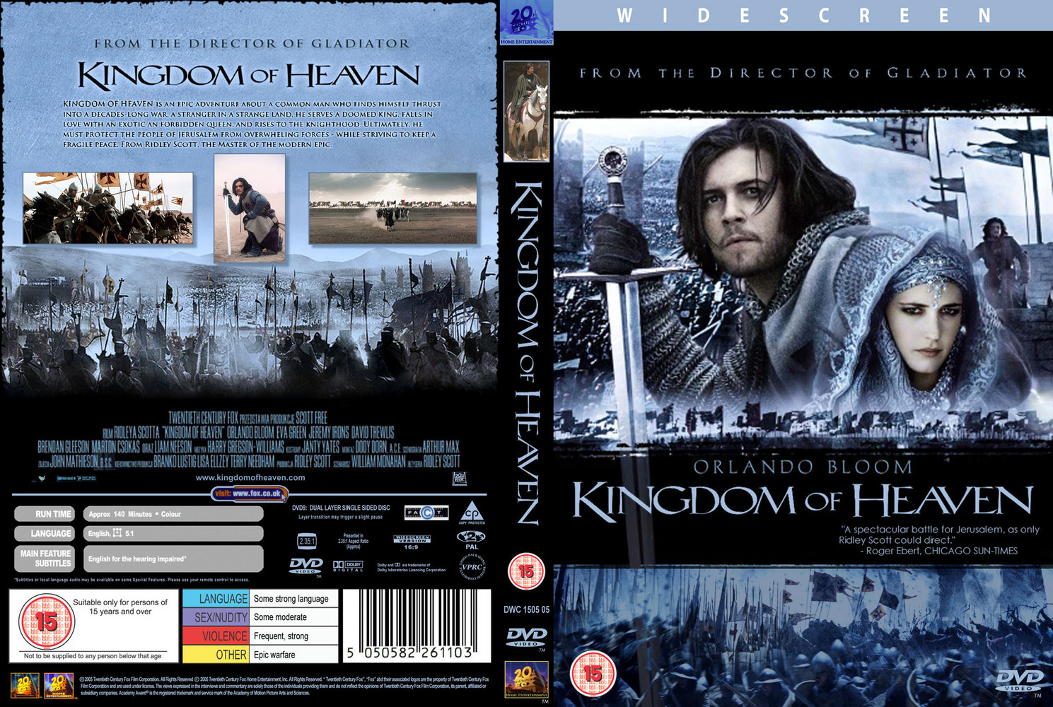 Movies Collection Kingdom Of Heaven 2005