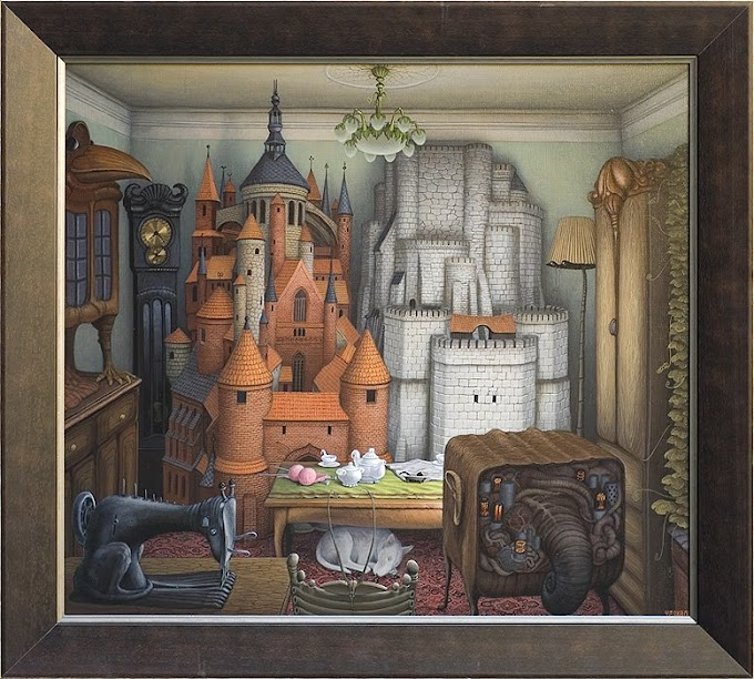 Jacek Yerka Surreal Art Collection