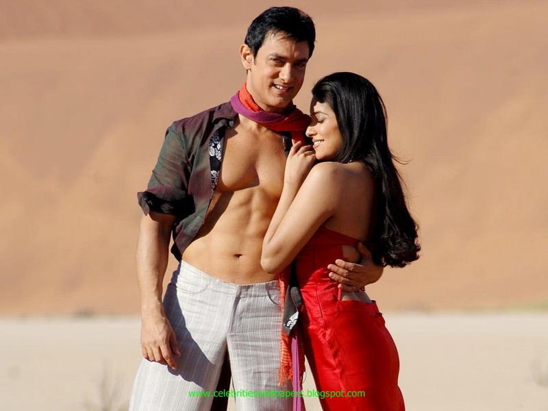 Ghajini Hindi Movie Part 3 Aamir Khan, Asin Thottumkal ...  |Asin Thottumkal And Aamir Khan