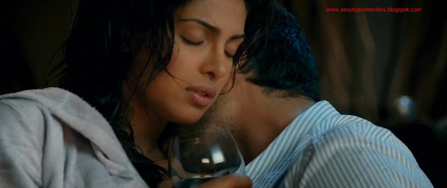 Sexy Top Celebrities Priyanka Chopra Hot Bed Scene - Fashion-2861