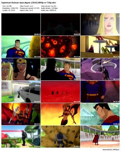 Superman/Batman: Apocalypse 2010 English BRRip 720p