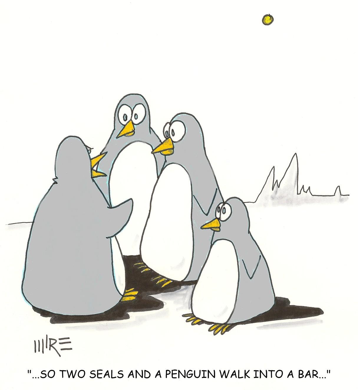 Funny penguin jokes